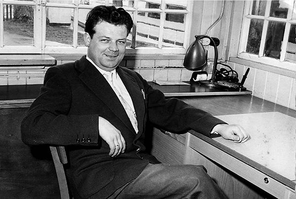 First working day of Franz Kutschera on 03.09.1956.