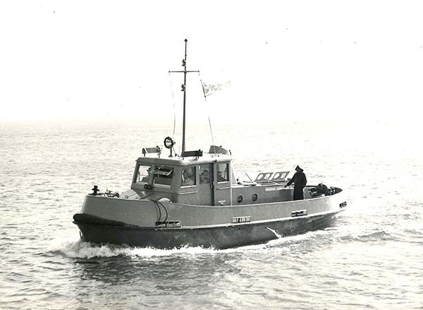 Tug boat for Port Said, Suez Canal. Göppinger Collection, Kressbronn a. B.